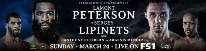 - Latest lamont peterson Sakio Bika Lionell Thompson Peterson vs. Lipinets Sergey Lipinets