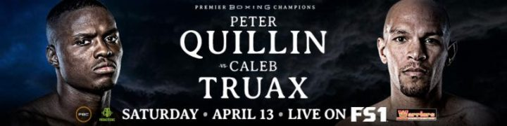 - Latest Peter Quillin Caleb Truax Chris Colbert Quillin vs. Truax