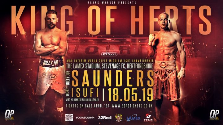 - Latest Billy Joe Saunders