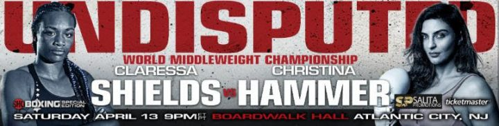 - Latest Christina Hammer Claressa Shields Jermaine Franklin Otto Wallin Shields vs. Hammer