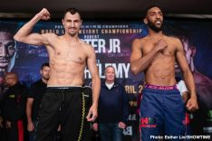 Latest Easter Jr. vs. Barthelemy Mohamed Mimoune Rances Barthelemy Viktor Postol