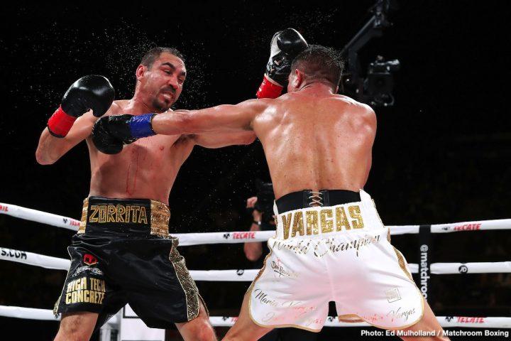 Humberto Soto Jessie Vargas DAZN Vargas vs. Soto