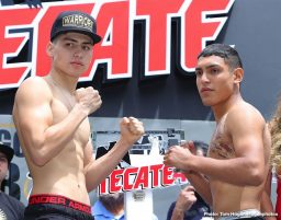 Latest Dennis Hogan Golden Boy Promotions Jaime Munguia Munguia vs. Hogan