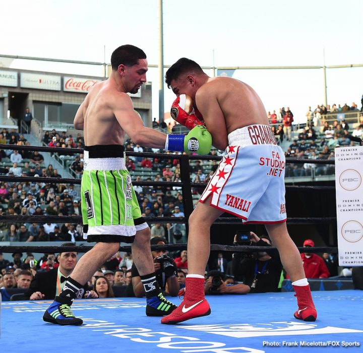 Photos / Results: Garcia Dominates Granados; Ruiz KOs