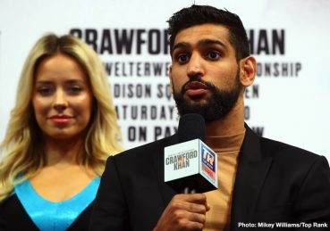 Amir Khan Terence Crawford Crawford vs. Khan ESPN pay-per-view Top Rank Boxing