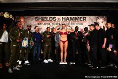 - Latest Christina Hammer Claressa Shields Shields vs. Hammer