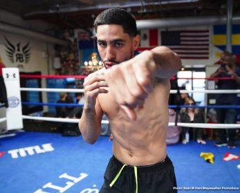 - Latest Danny Garcia Adrian Granados Garcia vs. Granados