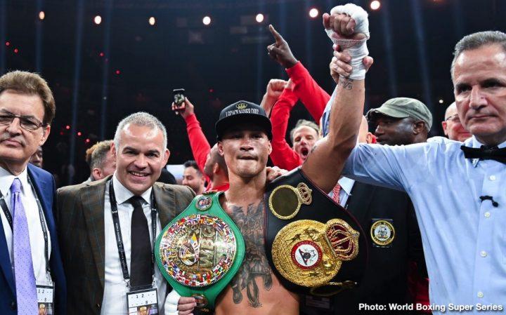 Latest DAZN Josh Taylor Kiryl Relikh Prograis vs. Relikh Regis Prograis World Boxing Super Series