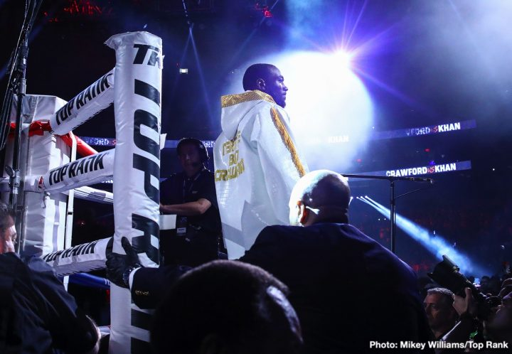 Amir Khan Terence Crawford Crawford vs. Khan