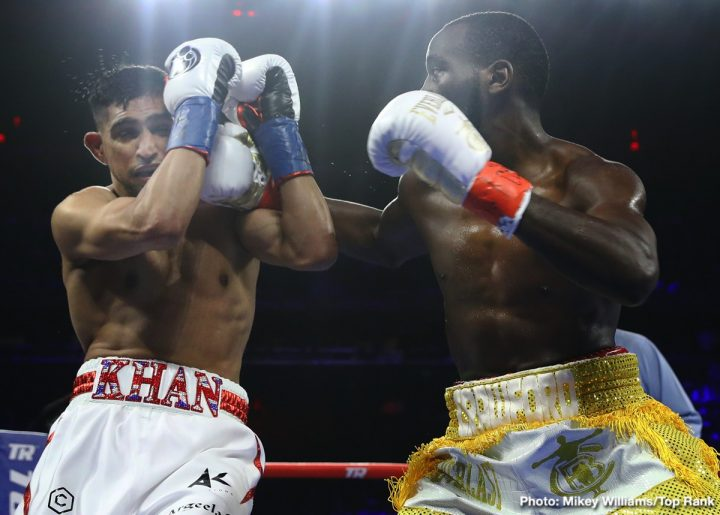 Amir Khan Terence Crawford Top Rank Boxing