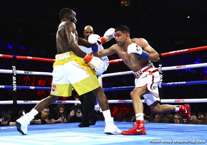 Amir Khan Terence Crawford Crawford vs. Khan ESPN PPV top rank