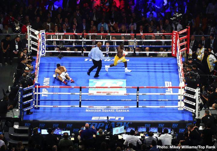 Amir Khan Terence Crawford Crawford vs. Khan ESPN pay-per-view Top Rank Boxing Virgil Hunter