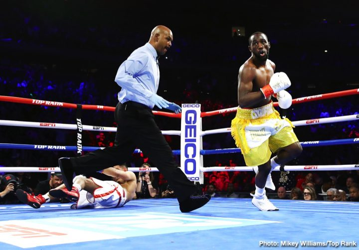 Amir Khan Terence Crawford Crawford vs. Khan ESPN pay-per-view top rank