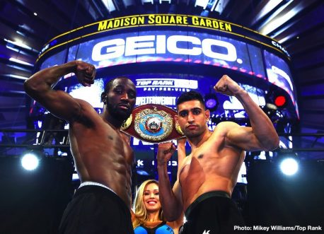 Amir Khan Terence Crawford Christopher Diaz Crawford vs. Khan Edis Tatli ESPN PPV Lopez vs. Tatli Shakur Stevenson Teofimo Lopez top rank