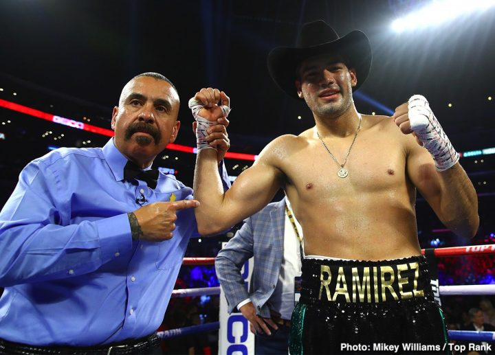 Gilberto Ramirez TOMMY KARPENCY
