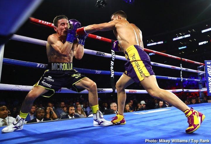 Vasyl Lomachenko ESPN Lomachenko vs. Campbell Luke Campbell Matchroom Boxing Top Rank Boxing