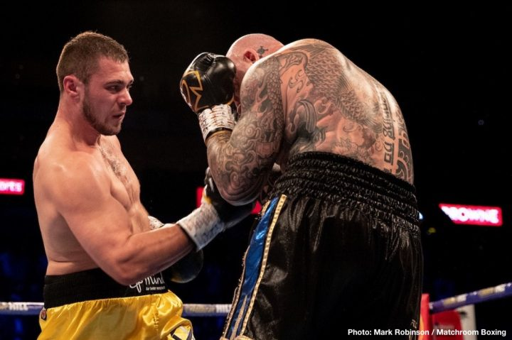 Latest Allen vs. Browne Dave Allen DAZN Lucas Browne