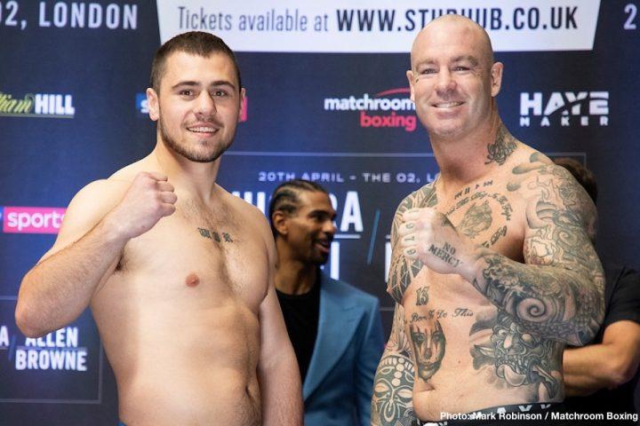 Derek Chisora Allen vs. Browne Chisora vs. Gashi Dave Allen Lucas Browne Senad Gashi