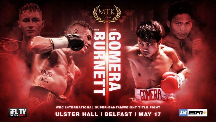 - Latest Burnett vs. Gomera Deco Geraghty Jelbirt Gomera Ryan Burnett Sean McComb