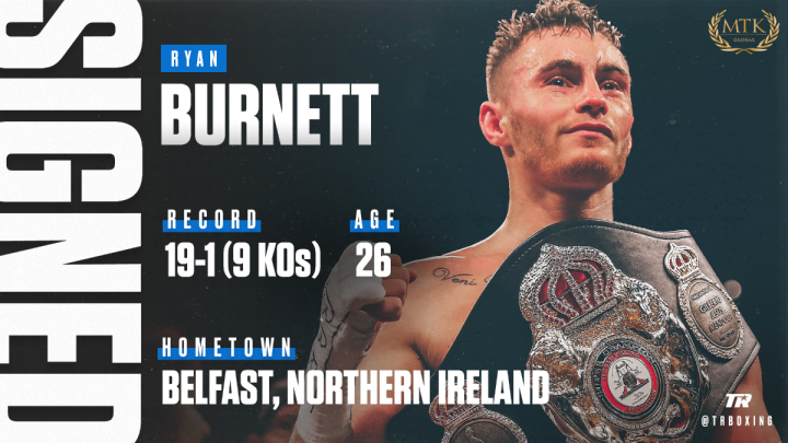 - Latest Ryan Burnett top rank