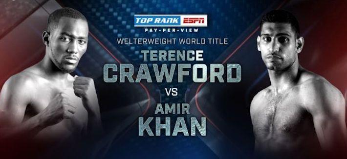 Amir Khan Terence Crawford