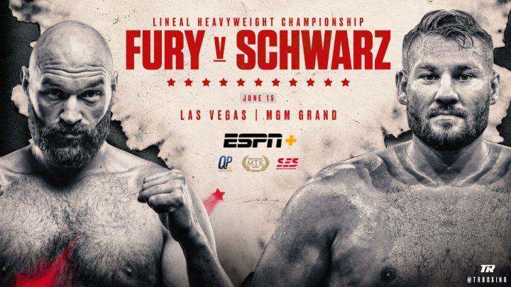 Deontay Wilder Tyson Fury ESPN Fury vs Schwarz Tom Schwarz top rank