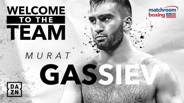 Latest Eddie Hearn Matchroom Boxing USA Murat Gassiev