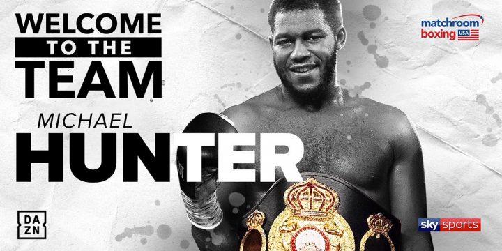 - Latest Matchroom Boxing Michael Hunter