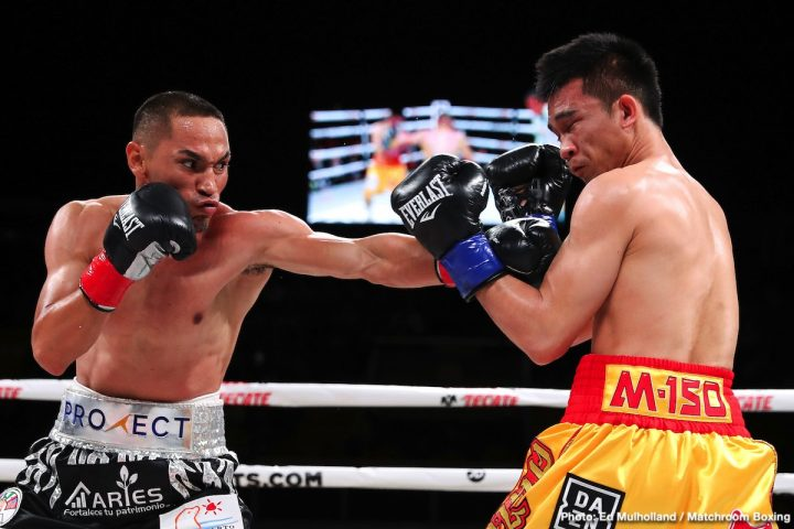 Latest Juan Francisco Estrada Matchroom Boxing