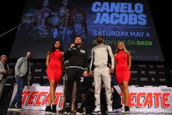 Daniel Jacobs Oscar De La Hoya Saul Alvarez Canelo vs. Jacobs