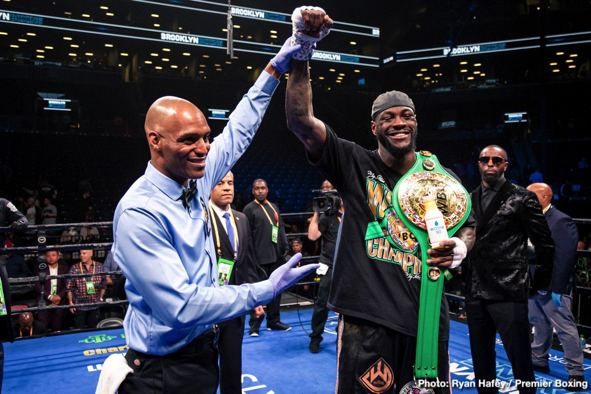 Wilder's rematch with Ortiz to be announced this month