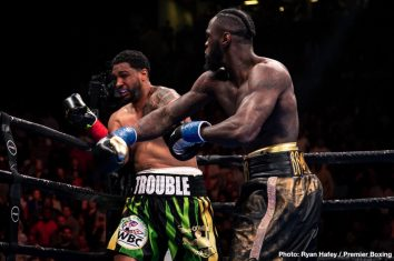 Boxing Results Deontay Wilder Destroys Dominic Breazeale Boxing