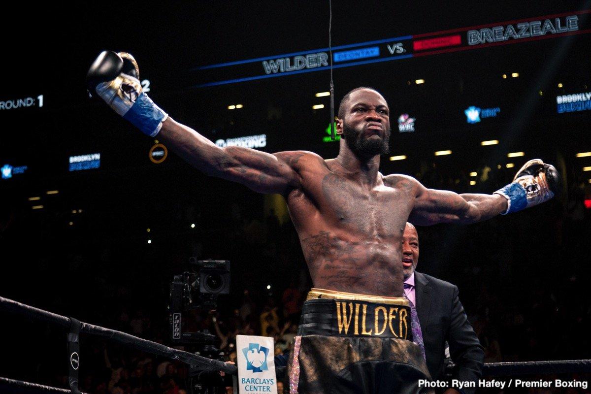 Deontay Wilder Tyson Fury Luis Ortiz Wilder vs. Fury Wilder vs. Ortiz