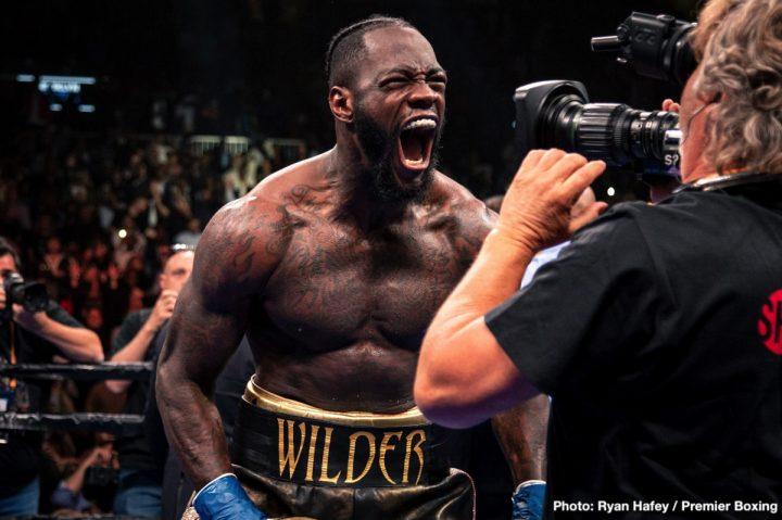 Anthony Joshua Deontay Wilder Tyson Fury Luis