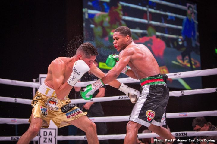 Latest Antonio Moran Devin Haney Eddie Hearn Haney vs. Moran