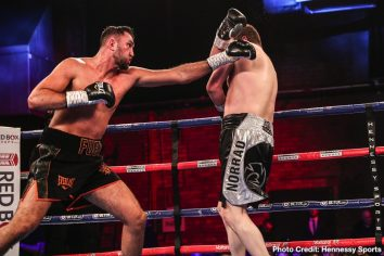- Latest Chris Norrad Fury vs. Norrad Hughie Fury