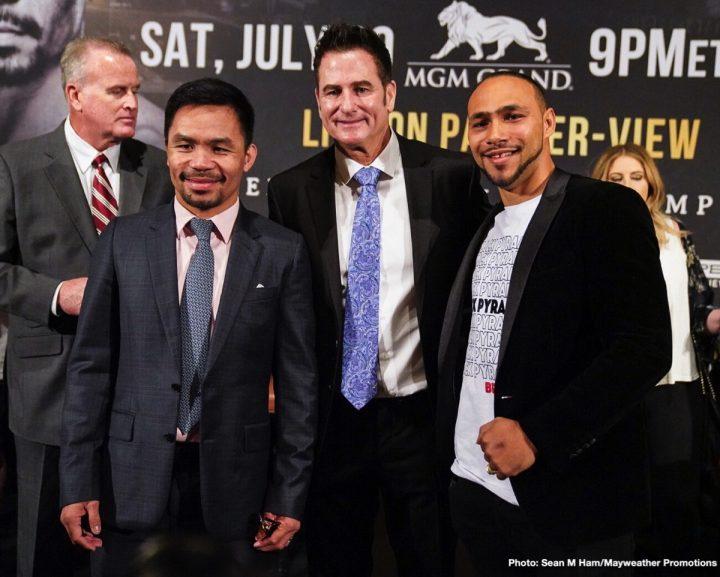 Keith Thurman Manny Pacquiao FOX Sports PPV Pacquiao vs. Thurman