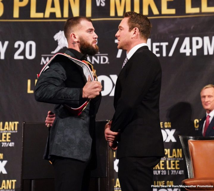 Latest Caleb Plant Mike Lee Plant vs. Lee