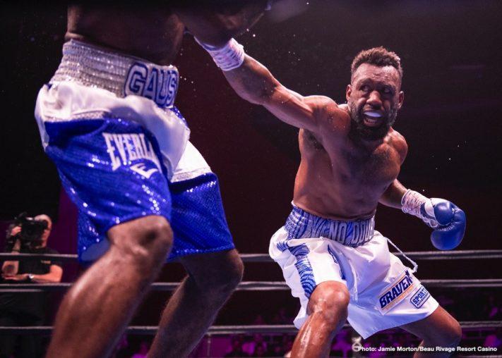 Latest Ahmed Elbiali Terrell Gausha Trout vs. Gausha