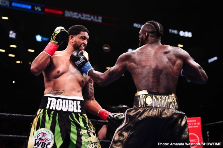 Anthony Joshua Deontay Wilder Tyson Fury Dominic Breazeale Wilder vs. Breazeale