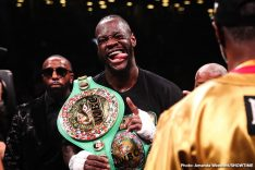 Deontay Wilder Gary Russell Jr. Kiko Martinez Dominic Breazeale Russell Jr. vs. Martinez Wilder vs. Breazeale