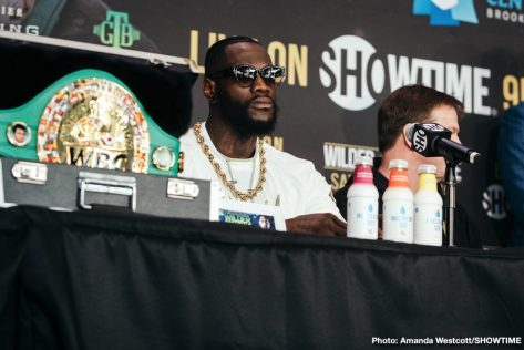 - Latest Deontay Wilder