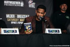 Deontay Wilder Dominic Breazeale Wilder vs. Breazeale