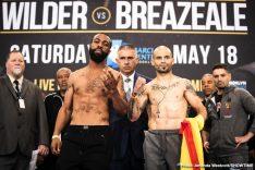Deontay Wilder Dominic Breazeale Wilder vs. Breazeale