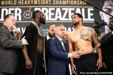 - Latest Deontay Wilder Kiko Martinez Dominic Breazeale Gary Russell Wilder vs. Breazeale