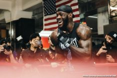 Deontay Wilder Dominic Breazeale Showtime Wilder vs. Breazeale