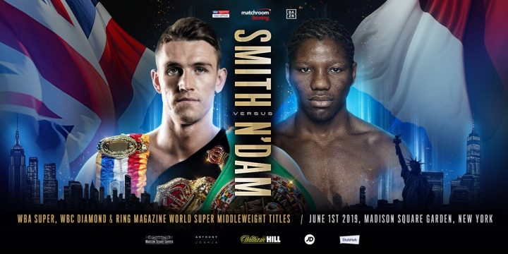 - Latest Hassan N'Dam N'Jikam Callum Smith Joshua vs. Ruiz Jr Smith vs. N'Dam