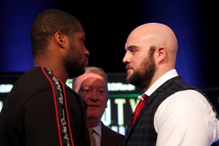 Latest Bryant Jennings Daniel Dubois Dubois vs. Gorman Joe Joyce Liam Williams Nathan Gorman