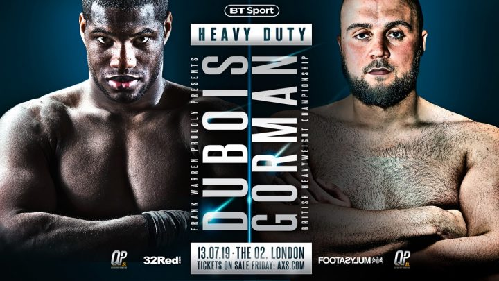 - Latest George Groves Tyson Fury Dubois vs. Gorman