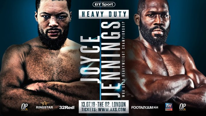 - Latest Bryant Jennings Joe Joyce